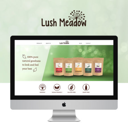 Digartis Portfolio Projects - Lush Meadow Website