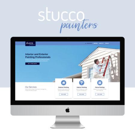 Digartis Portfolio Projects - Stucco Painters Website