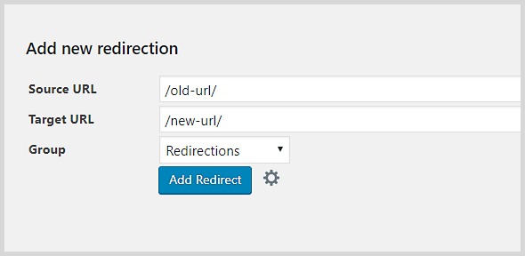 Set up 301 redirects in WordPress with the Redirection plugin.
