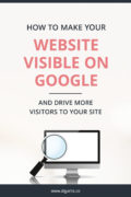 How to make your website visible on Google