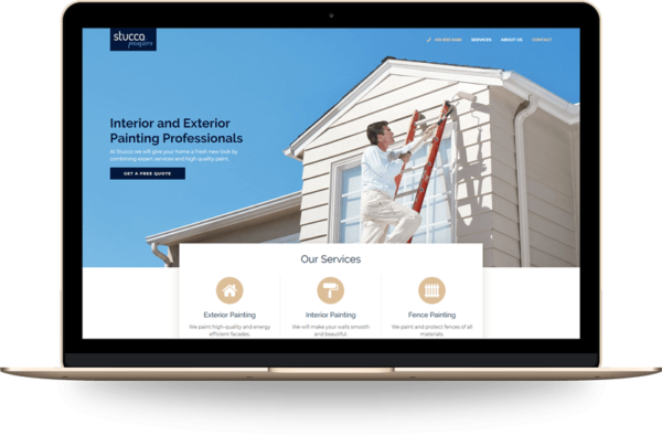 Stucco Painters Website by Digartis