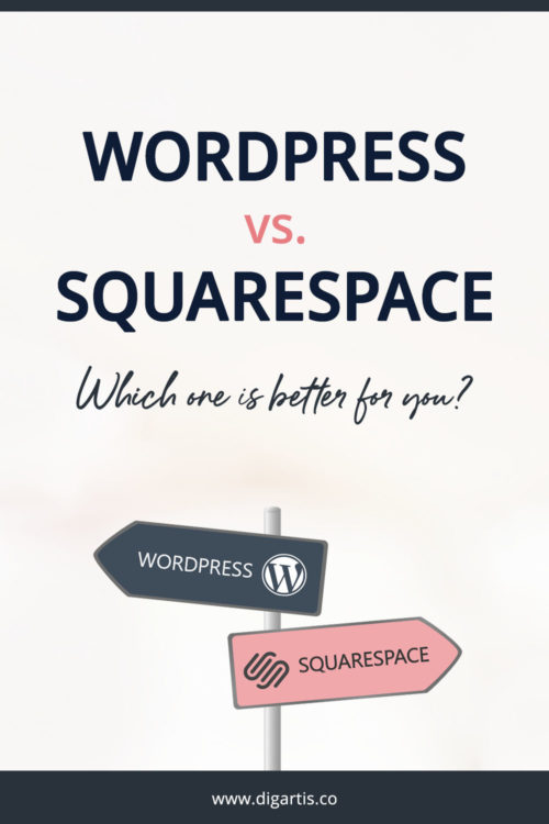 WordPress vs. Squarespace: Which one's better for you?